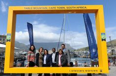 One of the most popular expressions of in 2014 has been this brightly coloured frame. We wonder how many thousands of selfies this one is part of! Table Mountain, Economic Development, Design Thinking, Cape Town, Selfies, South Africa, Popular, City, World