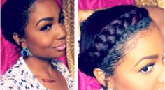 Deepbrown & Kinks: Simple Protective Styles For Medium Lenght Natural...