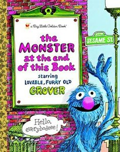The Monster at the End of this Book (Big Little Golden Book)  by Jon Stone, Michael J. Smollin (Illustrator)