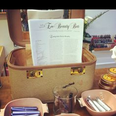 My Eco-Beauty Newsletter at Belly Sprout Santa Ana. Learn to green your makeup bag in easy steps!