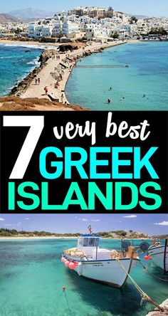 7 Very Best Greek Islands You Need To Experience Going on a Greek Islands vacation? Here are the 7 best Greek Islands to visit with travel tips included for each one. Read these travel to Greece tips before you go! Ways To Travel, Europe Travel Tips, European Travel, Places To Travel, Travel Destinations, Travel Hacks, Travel Advice, Travel Ideas, Wedding Destinations