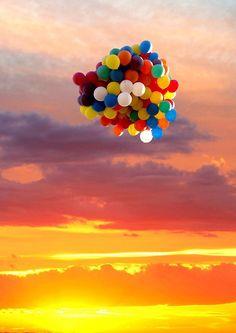 baloons...