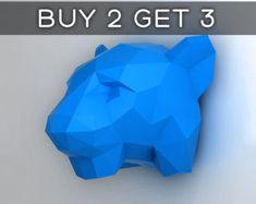 Unicorn  3D papercraft model. Downloadable DIY template