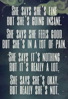 It is crazy how this manages to tell so much of how I feel in how the words are put together. I am starting to drift away and it is hard not to Sad Quotes, Great Quotes, Quotes To Live By, Life Quotes, Inspirational Quotes, Motivational Quotes, Depression Quotes, Depression Bipolar, Chronic Pain
