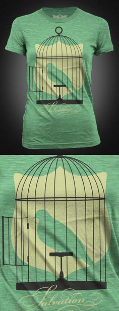 Salvation Army's T-shirt Agianist Human Trafficking