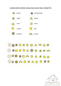 4.Sınıf Dikkat Etkinlikleri | Dikkat ve Görsel Algılama I Spy, Map, Maps