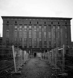 Berghain - Berlin I'm gonna get you! The world capital of techno .
