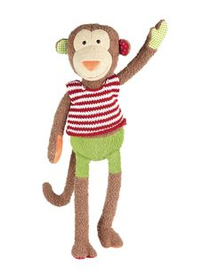 Plush Monkey by sigikid at Gilt