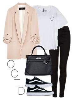 """""""OOTD- May 2nd 2017"""" by theeuropeancloset on Polyvore featuring Topshop, Hermès, Vans and ootd"""