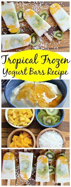 frozen yoguet bars