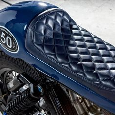 At first it was just a spark, and then the spark turned into a long journey. Cafe Racer Parts, Cafe Racer Seat, Cafe Racer Helmet, Cb750 Cafe Racer, Scrambler, Cafe Racers, Motorcycle Seats, Cafe Racer Motorcycle, Cafe Moto