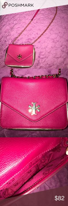 Authentic Tory burch bag Tory burch shoulder bag - perfect condition - trades/offers 👍🏽 Tory Burch Bags Shoulder Bags