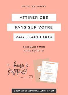 Avoir des fans sur Facebook, Comment avoir plus de fans sur Facebook ?