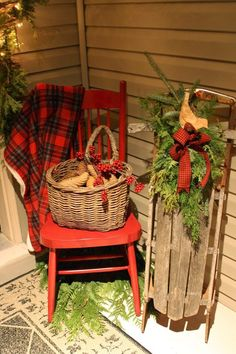 Christmas Front Porch..