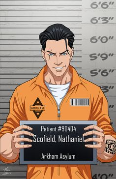 Nathaniel Scofield (Earth-27) locked up commission by phil-cho.deviantart.com on @DeviantArt