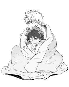 I'll protect you~ KatsuDeku <3