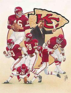 1969 – Chiefs win Superbowl IV over the Vikings. Kansas City Chiefs Football, Football Art, Vintage Football, Kansas City Royals, Football Helmets, Football Season, Football Coaches, School Football, Pittsburgh Steelers