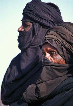 Tuareg Nomads. Niger