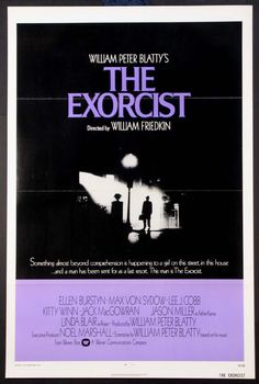 THE EXORCIST  (1974)  Original one sheet size, 27x41 movie poster.