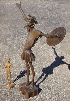 Don Quixote Statue by Mezzaninex | Don Quixote | Pinterest | Francis ...