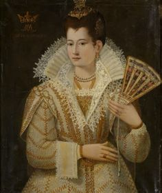 An Unknown Lady aged 23, called 'the Countess Miranda' Italian (Florentine) School National Trust Inventory Number 1210350 Category Paintings Date 1571 Materials Oil on canvas Measurements 800 x 686 mm (31 1/2 x 27 in)  Oxburgh Hall © National Trust Images