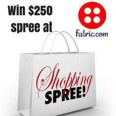 Win a $250 Shopping Spree from Fabric.com