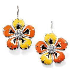 Tropical Flower Earrings - Thomas Sabo