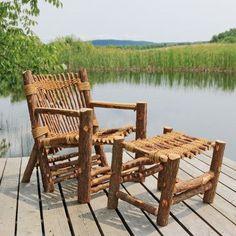 Ordinaire Vermont Cedar Chair Company Irie Adirondack Chair And Ottoman Set