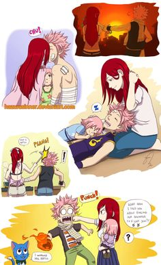 More Natsu x Erza moments~ with the little girl I created for them XD I've noticed that Fairy Tail lacks recognition and I find it strange, given that i. Natsu x Erza Fairy Tail Ships, Fairy Tail Girls, Fairy Tail Couples, Anime Fairy, Natsu And Erza, Fairy Tail Erza Scarlet, Fairy Tail Comics, Wattpad, Anime Love