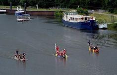 Drachenbootrennen in Merzig.