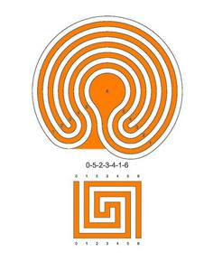 A 5 circuit meander labyrinth                                                                                                                                                      More