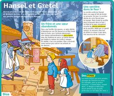 Educational infographic : Fiche exposés : Hansel et Gretel Plus French Articles, French Resources, Study French, Learn French, French Expressions, French Classroom, Teaching French, Reading Skills, French Language