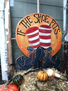Tole halloween yard art | Found on etsy.com