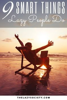 Some people  often judge lazy people for they go about living life usually describing them as 'sloths' with low self-confidence, lack of self-esteem, a lack of positive recognition by others, etc. Here are 9 things lazy people do to work and live smarter, not harder. #lazy #worksmarter #livesmarter #efficient #productivity Life Advice, Life Tips, Low Self Confidence, Personal Development Books, Lazy People, Self Improvement Tips, Sloths, Life Purpose, Life Inspiration