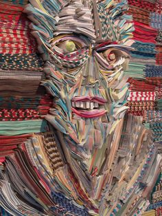 does this remind anyone else of christopher walken ?!? Paper Elegies by Nick Georgiou