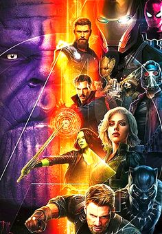 Infinity War combo poster - unofficial but still great!