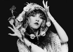 Stevie Nicks : Stephanie Lynn Nicks---(Years active Associated acts: Fleetwood Mac (joined Buckingham Nicks, Tom Petty and the Heartbreakers, David A. Stewart, Sheryl Crow- Went solo in (Fleetwood Mack inducted into Rock and Roll Hall of Fame in Lindsey Buckingham, Buckingham Nicks, Stevie Nicks Fleetwood Mac, Stevie Nicks Quotes, Stevie Nicks Witch, Gypsy Women, Portraits, Tambourine, Look Vintage