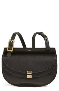 Chloé 'Small Georgia' Leather Crossbody Bag available at #Nordstrom