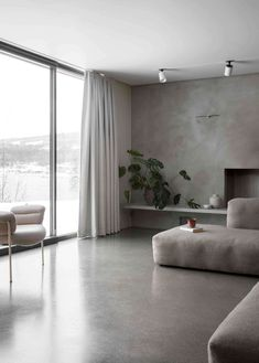 Living Room | Gjoevik House by Norm Architects | est living
