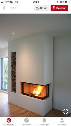 Most up-to-date Cost-Free Gas Fireplace remodel Suggestions The next wind storm exterior may be frightening, however your flames is really so wonderful! Concrete Fireplace, Open Fireplace, Fireplace Remodel, Fireplace Inserts, Fireplace Design, Fireplace Stone, Fireplaces, Living Room Remodel, Interior Design Living Room