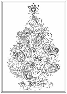 Christmas mandala coloring pages christmas mandala coloring sheets Mandalas Painting, Mandalas Drawing, Mandala Coloring Pages, Adult Coloring Pages, Coloring Sheets, Coloring Books, Zentangles, Christmas Tree Pictures, Colorful Christmas Tree