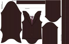 10th doctor onesie fabric by spacefem on Spoonflower - custom fabric