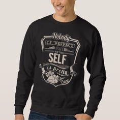 Being SELF Is Pretty. Gift Birthday Sweatshirt - birthday gifts party celebration custom gift ideas diy