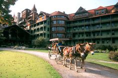 Mohonk Mountain House, New York State.