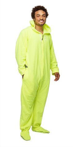 Zebra Footed Deluxe Adult One Piece Pajamas, Footy PJs Onesies ...
