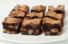 Ciasto czekoladowo-owocowe