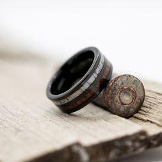 Deer Antler Ring, Deer Antlers, Cheap Wedding Decorations, Wedding Ideas, Wedding Inspiration, Black Tungsten Rings, Black Deer, Wedding Types, Tungsten Wedding Bands