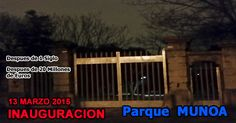 Por fin, despues de un siglo y 20 millones de euros.... el Parque Munoa de Barakaldo abre sus puertas este viernes 13 de Marzo de 2015.  La espera ha sido larga