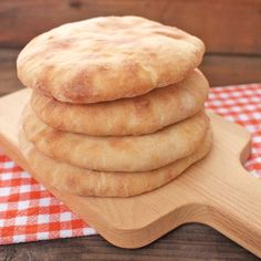 Pita chléb Bread Recipes, Baking Recipes, Home Baking, Naan, Dumplings, Bread Baking, Apple Pie, Bakery, Pizza