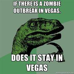 Zombie outbreak in Vegas